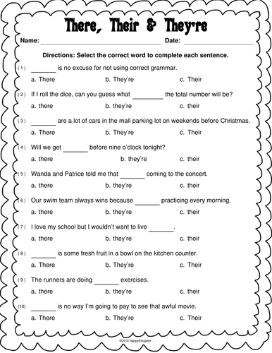 there their they re worksheet pdf