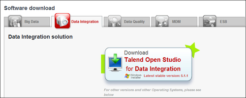 getting started with talend open studio for data integration pdf